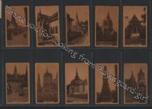 Tobacco cards set cigarette cards Views of Siam